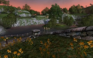 View from my house in LoTRO