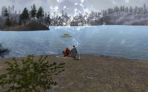 Leveling by the Lake