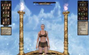 Female character creation