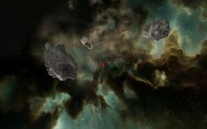 Circled Asteroid