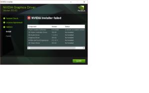 nVidia install error
