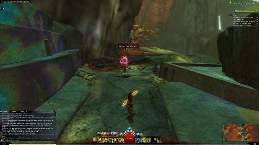 GW2 – Through the Looking Glass – MMO Juggler